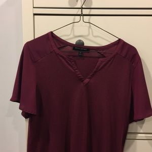 semi formal banana republic top